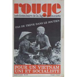 Rouge-Hebdomadaire-De-La-Ligue-Communiste-N-189-Pour-Un-Vietnam-Uni-Et-Socialiste-