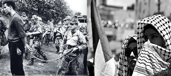 guerre d'algerie - palestine