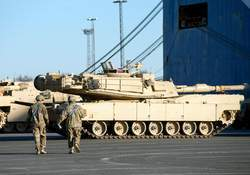 US military equipment arrives in Germany for Atlantic Resolve