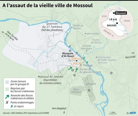 Mossoul 27-03-2017