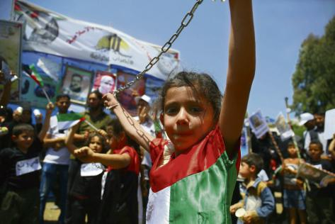 Prisonniers Palestiniens Manif