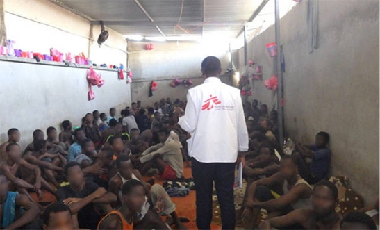 Refugies- Libye
