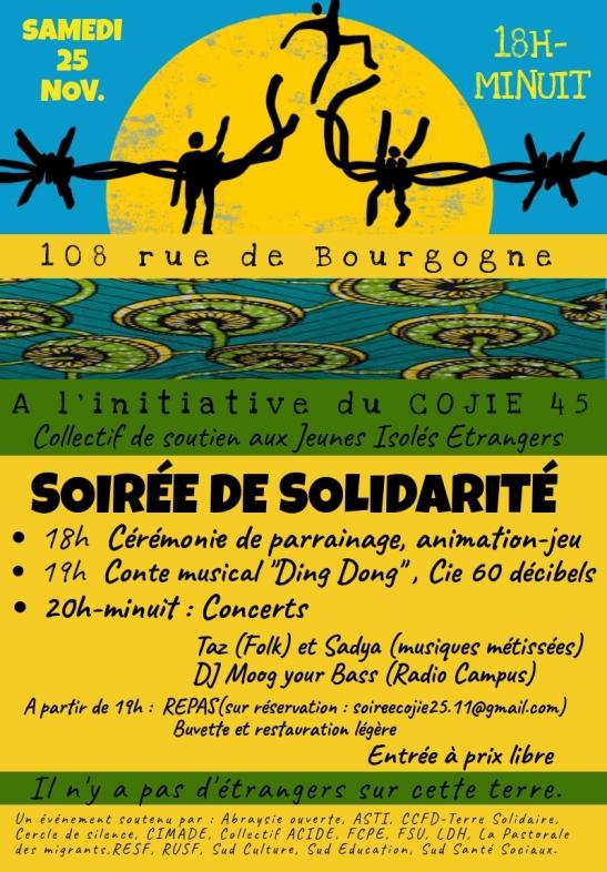 Affiche SoiréeSolidarité 25Nov17