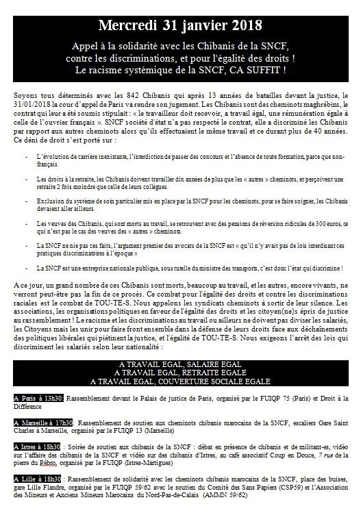 Chibanis e la SNCF 31 janvier 2018 verso