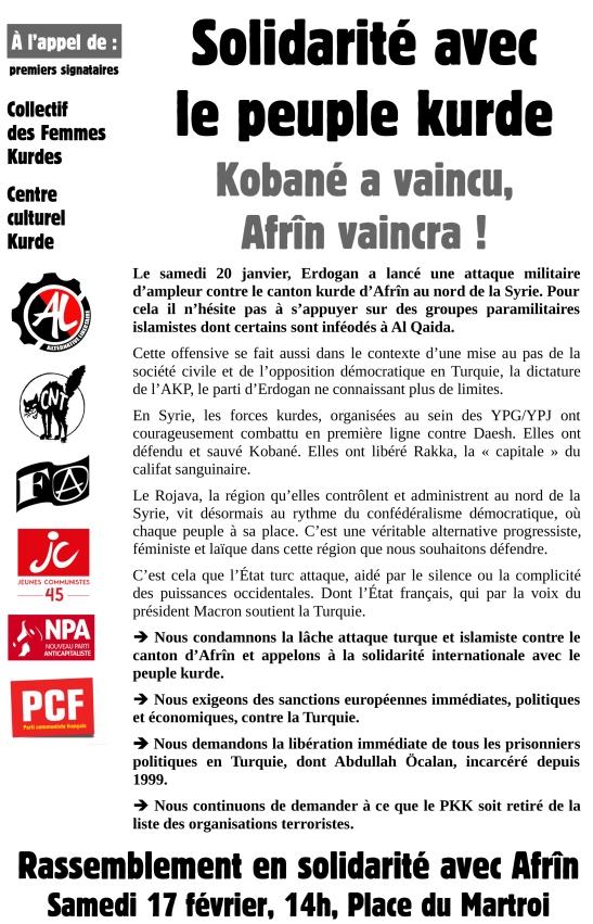Solidarité Kurdes