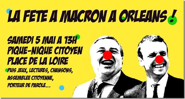 La fête àMacron samedi 5 mai[1]