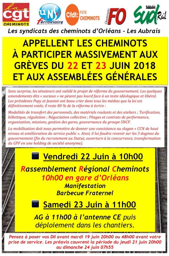affiche unitaire 22 et 23 juin 2018