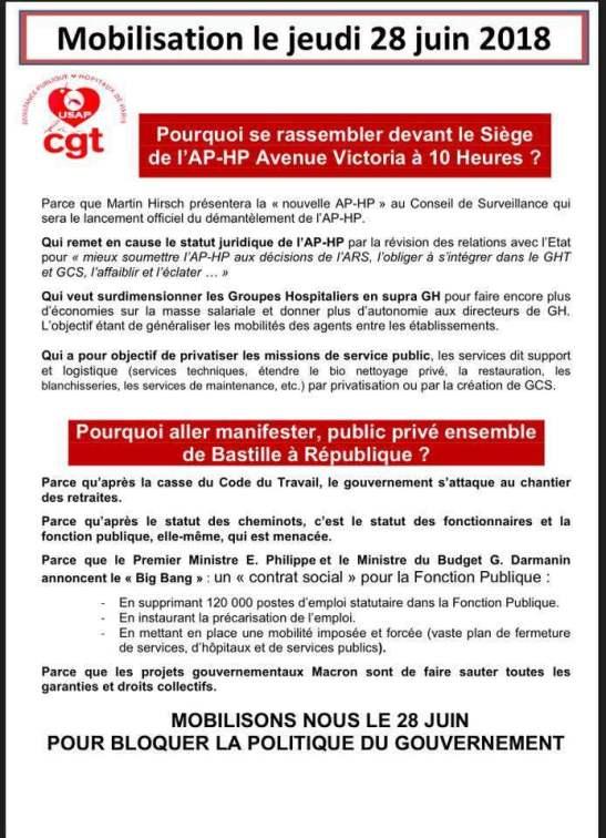 Mobilisation Contre APHP 5