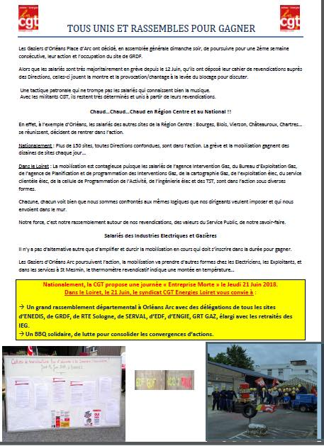 Tract CGT Energie