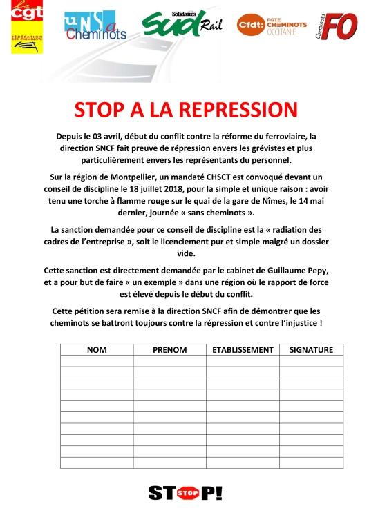 STOP A LA REPRESSION-1