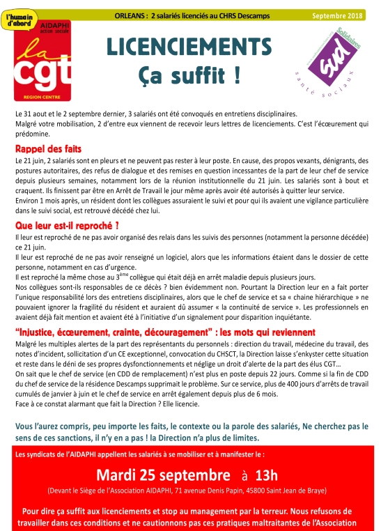 Tract CGT SUD sept 2018