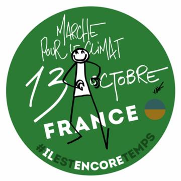 Marche pour le Climat 13-10-2018 Logo