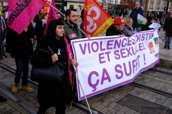 Manif femmes Orléans 24-11-18 2