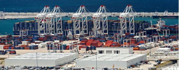 Tanger le terminal conteneurs