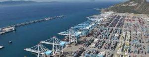 Tanger portiques conteneurs