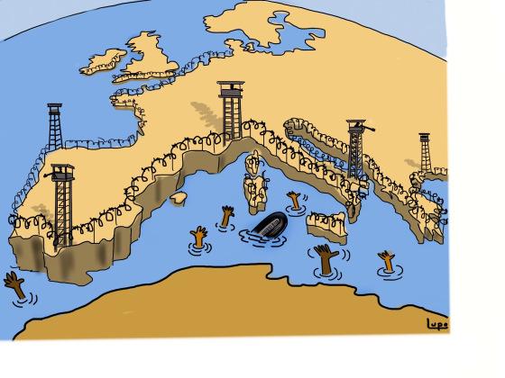 Europe des barbelés