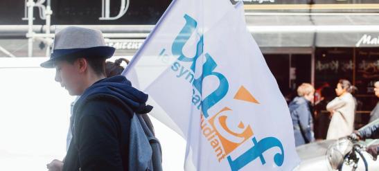 Defile du 1er mai, fete du travail, et manifestation contre le projet de loi El Khomri de reforme du code du travail