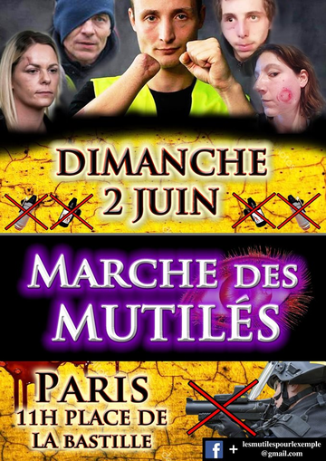 Marche des mutiléEsaris 02-06-19
