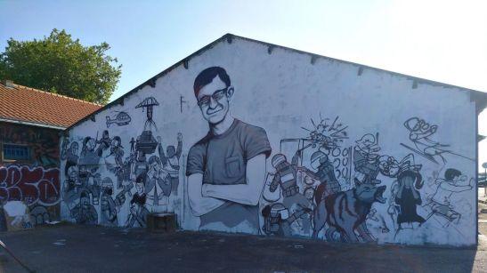 Fresque murale Steve