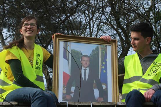 Decrichage de Macron