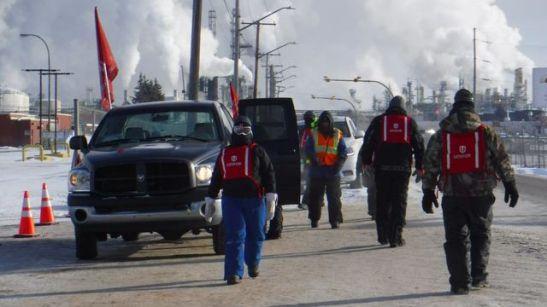 Travailleurs de la Raffinerie