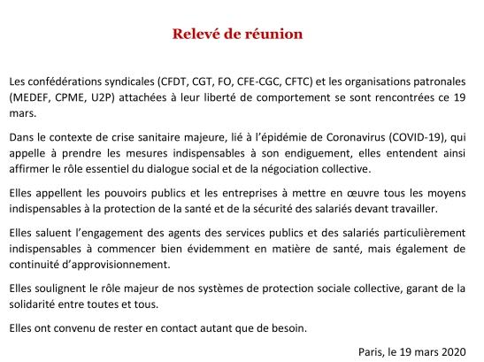 declaration_commune_19_mars_cfdt_cgt_fo_cfe_cgc_cftc_medef_cpme_u2p