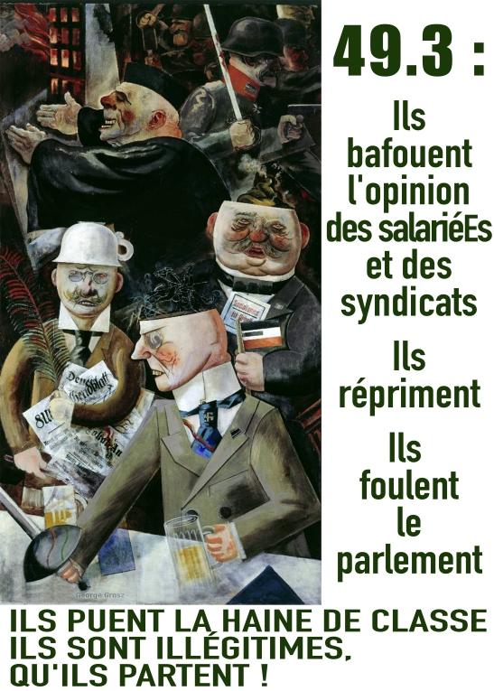Manifestaton contre la réforme des retraites à Paris