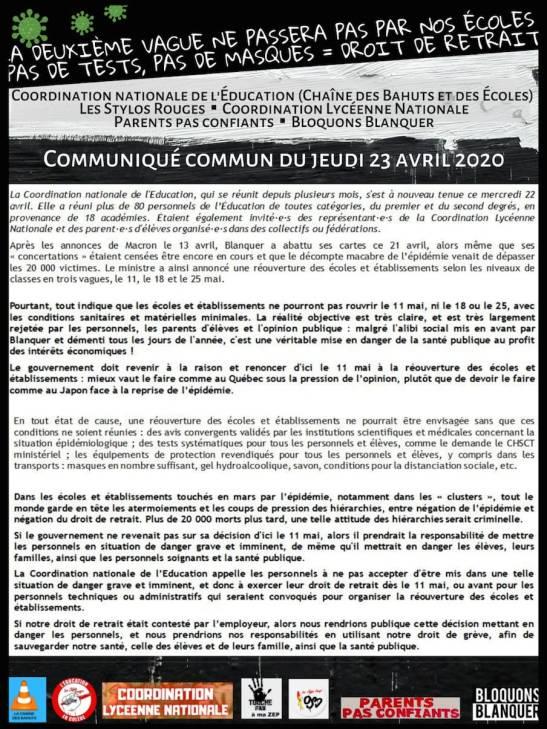 Communiqué CNE-CLN-SR-BB-PPC 23 avril A4 light