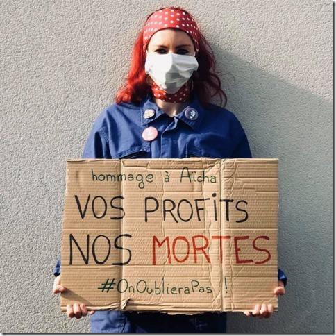 Covid Vos profits nos mortes