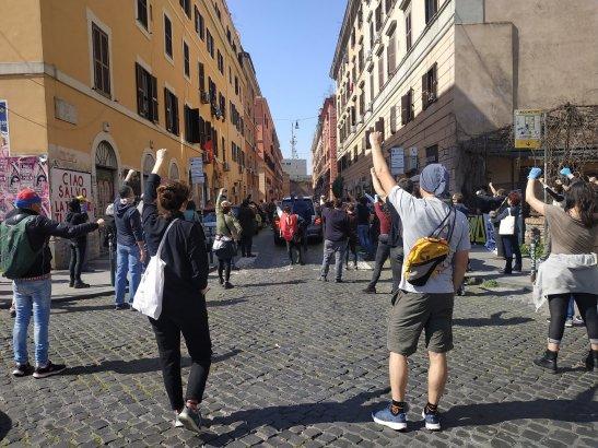 Manif Italie